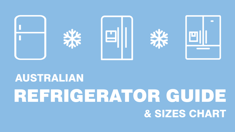 Australian Refrigerator Guide & Sizes Chart logo